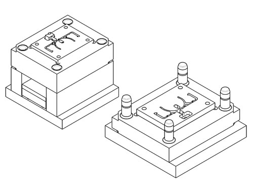 Musterspritzwerkzeug für Kleinserien