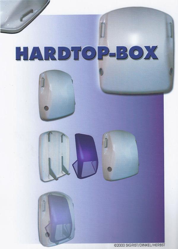 Hardtop-Box für das Winterdach