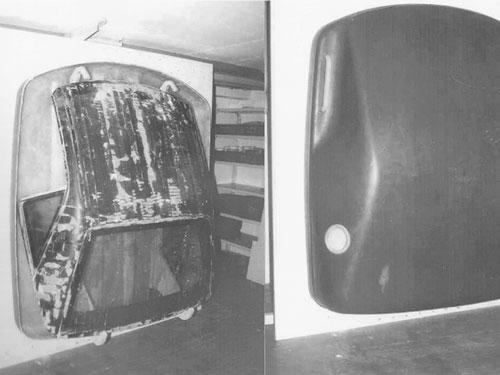 Herstellung der Hardtop-Box mit Laminat-Werkzeugen