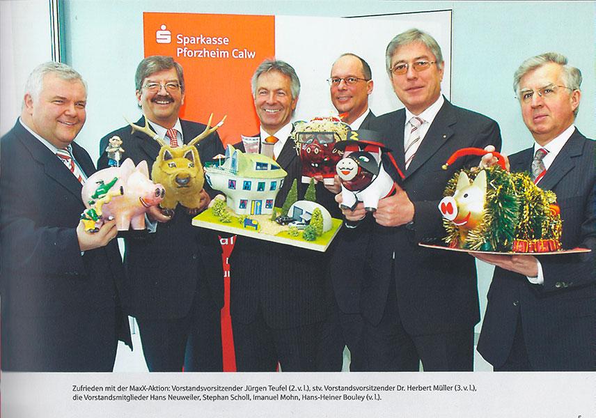 Wettbewerb zur MaxX-Aktion der Sparkasse PforzheimCalw 2006 präsentiert von Dr. Herbert Müller