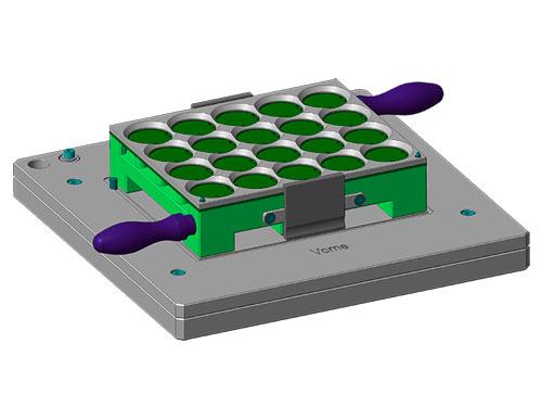 Vorrichtung für Lötaufnahme zum automatisierten Löten